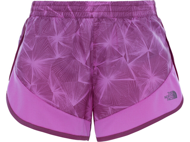 The North Face W's Altertude Hybrid Shorts Wood Violet Linear Floral Print
